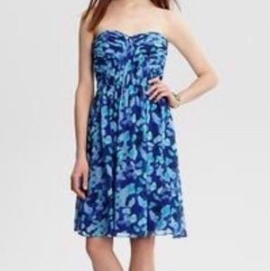 Banana Republic Monogram water color dress sz 6